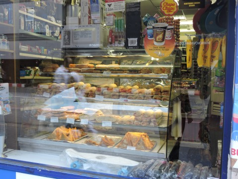 Pasties, Samosas and Sausage Rolls Display