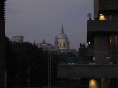 St. Paul's Cathedral seen from the South Bank