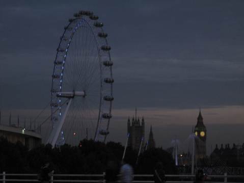 London Eye, Houses of Parliament and Big Ben