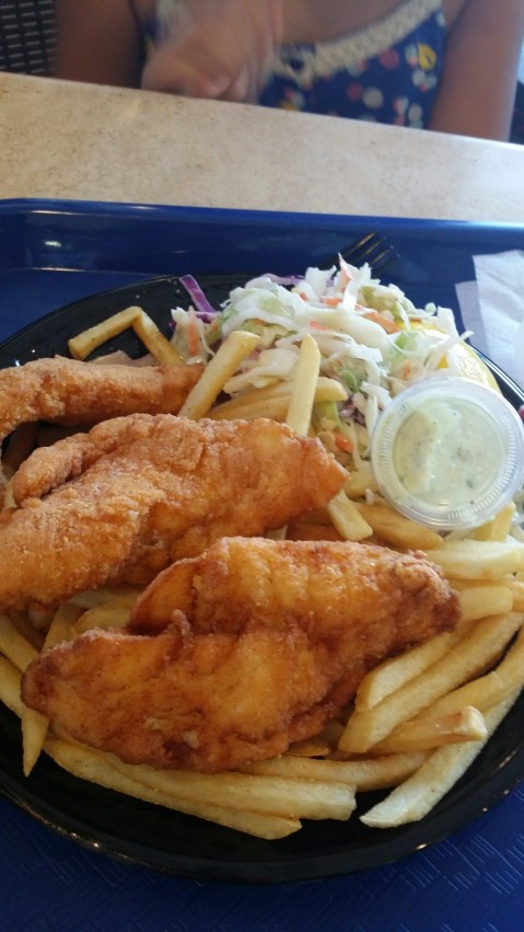 Fish & Chips at Point Loma Seafoods
