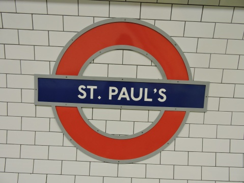 St. Paul's Tube Station, London