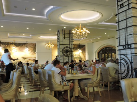 Restaurants at Delphin Imperial, Lara