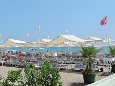 The Beach at Delphin Imperial, Lara