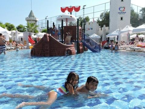 Kids Swimming Pool At Delphin Imperial, Lara