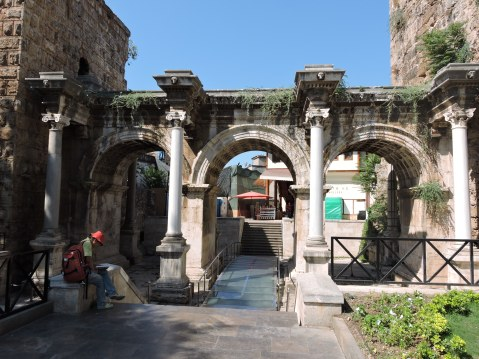 Haidan's Gate, Antalya, Turkey
