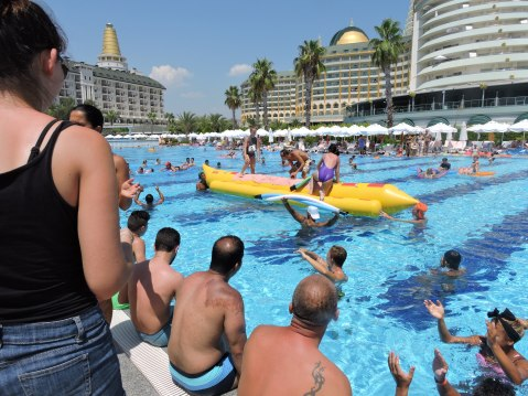 Swimming Pools And Grounds  At Delphin Imperial, Lara