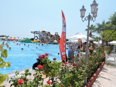 The Swimming Pools and Grounds of Delphin Imperial, Lara Beach