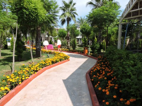 Grounds of Delphin Imperial, Lara Beach
