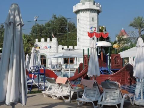 Kids Camp/Kids Club at Delphin Imperial, Lara Beach