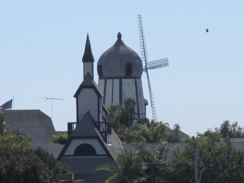 Near the Flower Fields, The Windmill, Carlsbad