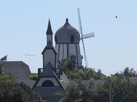 Near the Flower Fields, The Windmill, Carlsbad