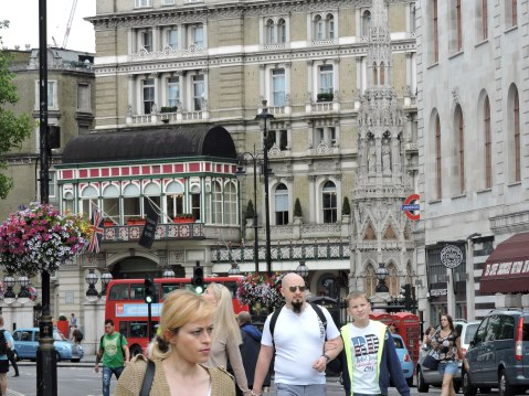 near Trafalgar Square