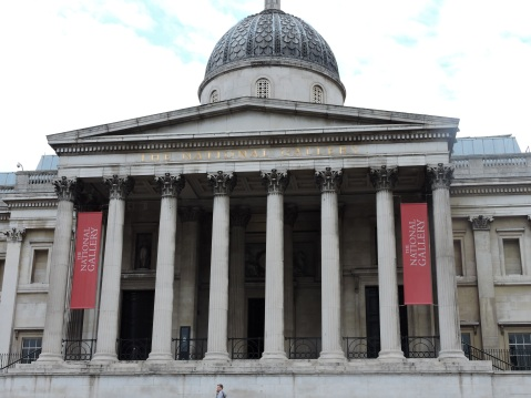 The National Gallery At Trafalgar Square