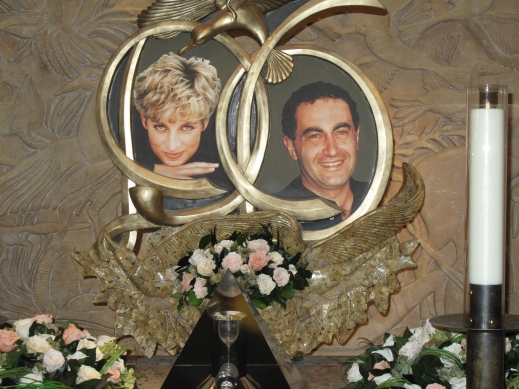 Diana & Dodi Memorial at Harrods, London
