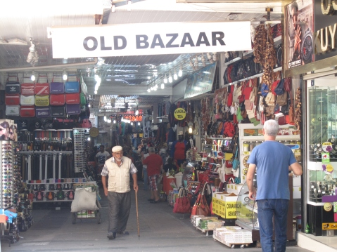 The Old Bazaar, Old City of Antalya