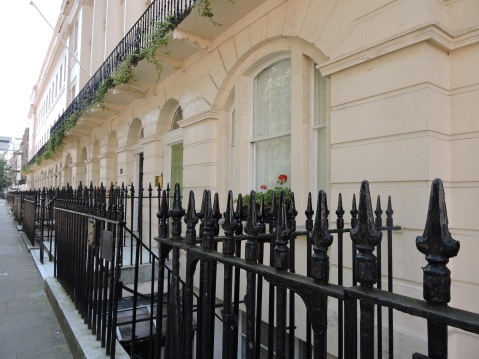 Fitzroy Square area, London