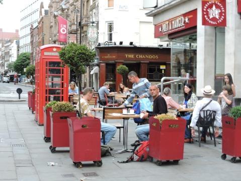 The Chandos on St. Martins Lane, near Covent Garden