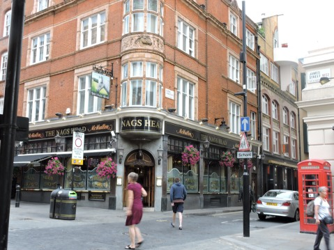 Close to Covent Garden - The Nags Head