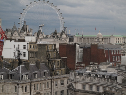View From Trafalgar Hilton