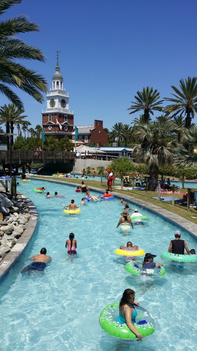 A Visit to Knotts Soak City And Farrell's Ice Cream ...