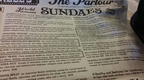 Farrell's Ice Cream Parlour in Buena Park