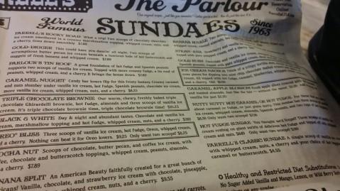 Farrell's Ice Cream Parlour in Buena Park