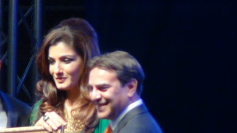 Raveena Tandon at Los Angeles Indian Independence Day Event