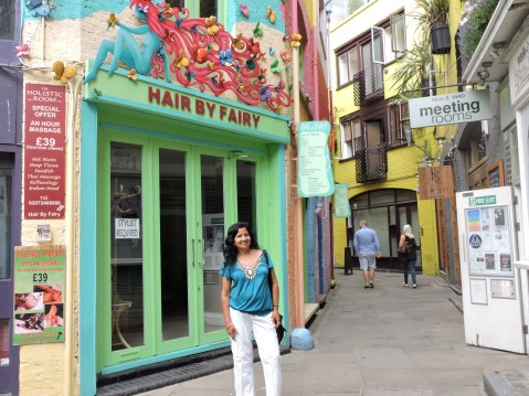 Close To Covent Garden Is Neal's Yard