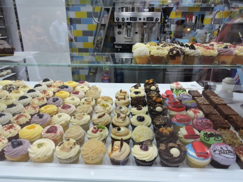 Lola's Cupcakes, near Neal's Yard