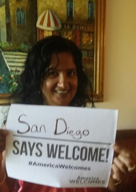 San Diego Says Welcome