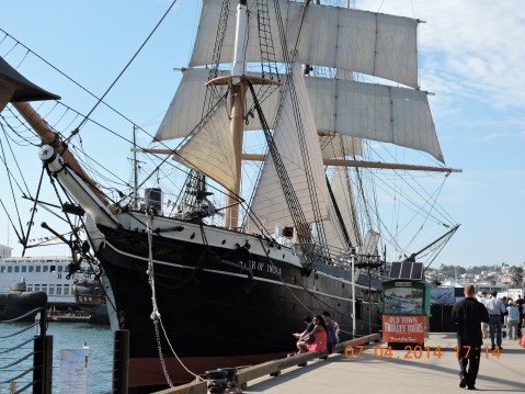 Star of India in San Diego