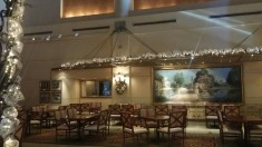 Manchester Grand Hyatt - the beautiful bar/lounge area is near the lobby.