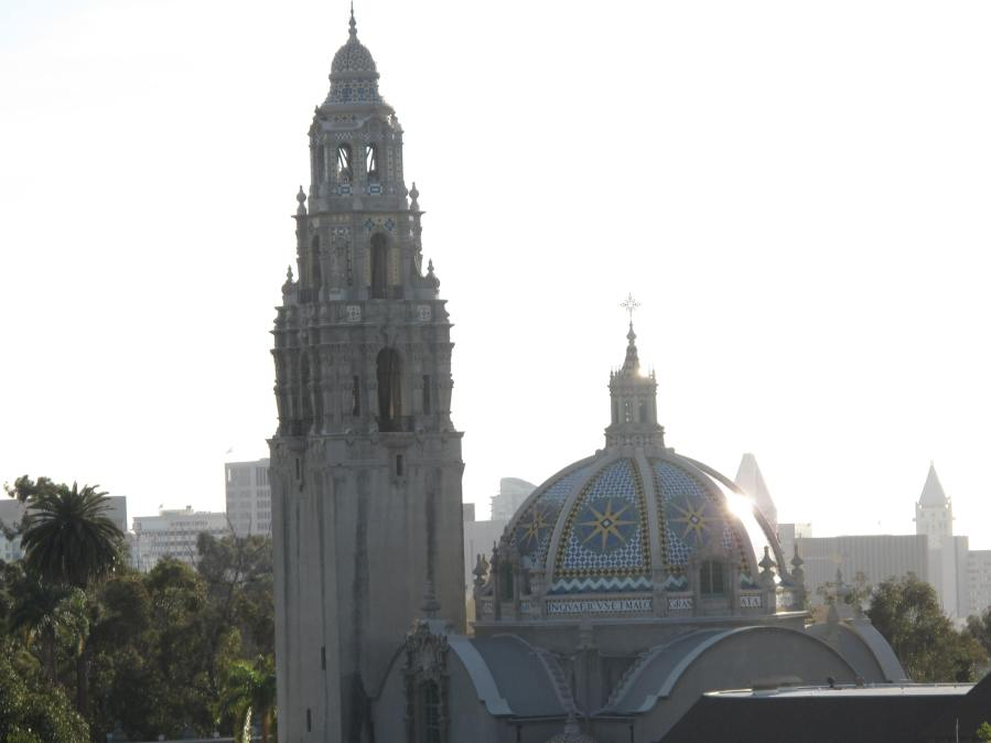 San Diego Museum of Man At Balboa Park, As Seen From The San Diego Zoo